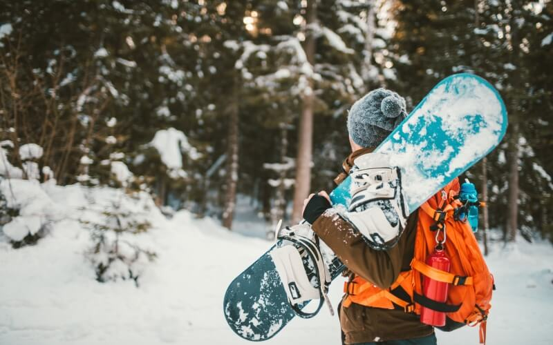 snowboarding abroad