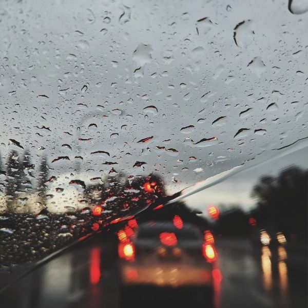 Driving safely in wet weather
